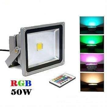 50W LED RGB Floodlight - All The Brightness With All The Savings Sunridge Park - image 2
