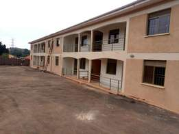 A two bedroom apartment for rent in kiira