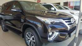 Brand New Toyota Fortuner 2.8GD-6 4x4 M/T!