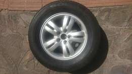 Selling tire with rim