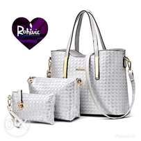 Set of fashionable bags