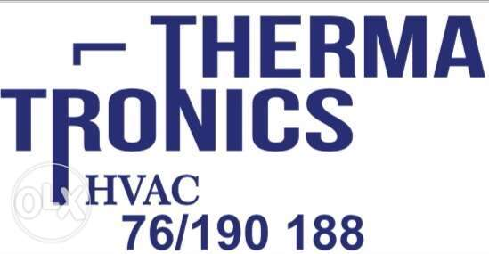 THERMATRONICS. central AC unit, installation and repair.