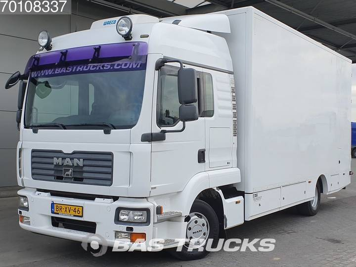 MAN TGL 12.240 LX 4X2 Perfect-condition! Standklima Ladebordwand - 2006