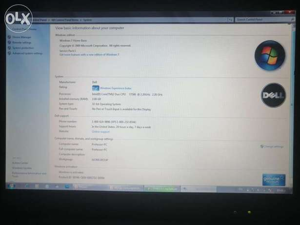 Dell D830 /2g ram 160HDD business