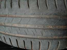 "4x 15"" Good second hand TYRES."