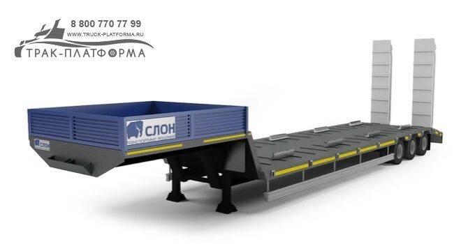 slon v3 40 eko low bed semi - 2019