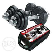 20Kg Dumbbell Set - Free Delivery - 19 Rials Only