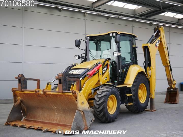 Caterpillar 428 F 2 Nice Clean Machine / AC - 2015
