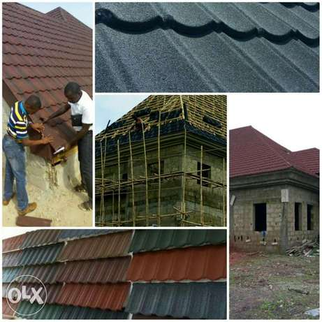 Stone coated steel roofing tiles Alimosho - image 4