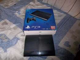 PS3 AS GOOD AS NEW with 2 wired controllers