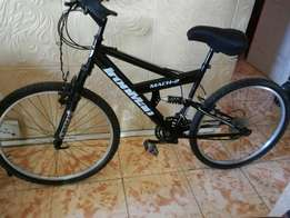 Almost new mountain bicycle