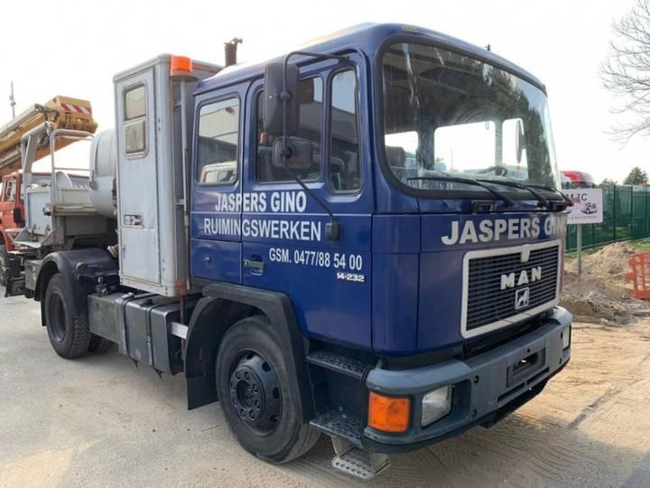 MAN 14.232 high pressure cleaner - tanker / citerne - lavage - 1991