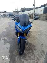 Clean Blue Yamaha Fazer Power Bike