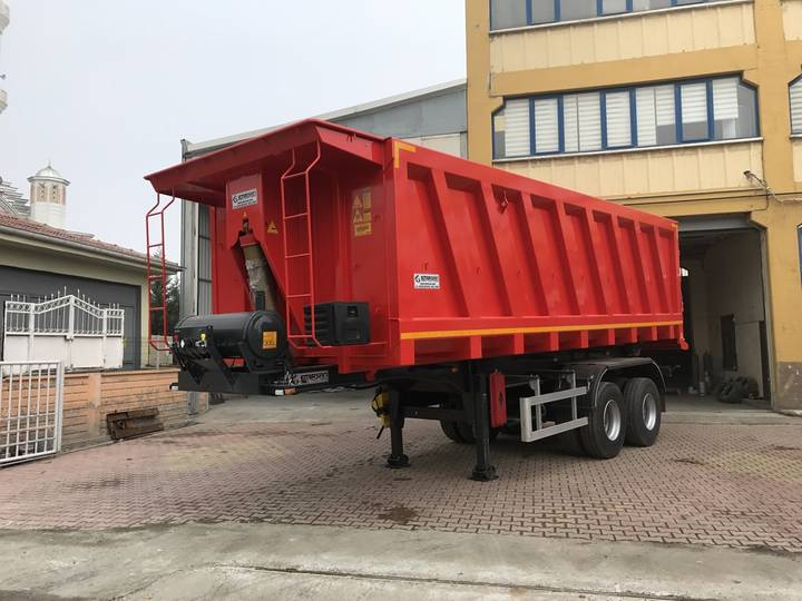 Emirsan Trailer Heavy Duty Tipper - 2018