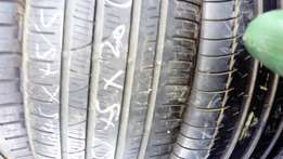 Tyres used 16.to 22 inch used