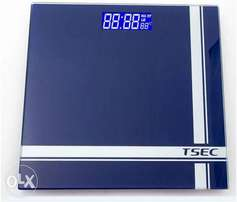 Digital Dark Blue bathroom scale