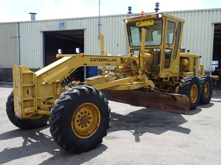 Caterpillar 140G Grader + Ripper Perfect Condition 5.255h only! - 1981