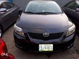 Less than 1 year used 2009 Toyota corolla with perfect condition for u