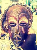 African old rwandese crafted in 1876 mask