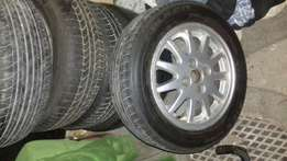 Wheels nd tyres