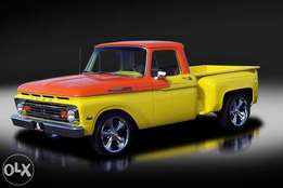 Ford F100 windscreens