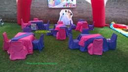 Clean and huge bouncy bouncing castle,themed kids decor for hire