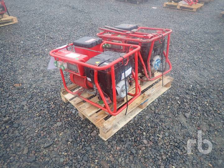 HGD 3.8-HE Qty Of 2 Generator Sets