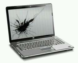 Broken laptop for cash
