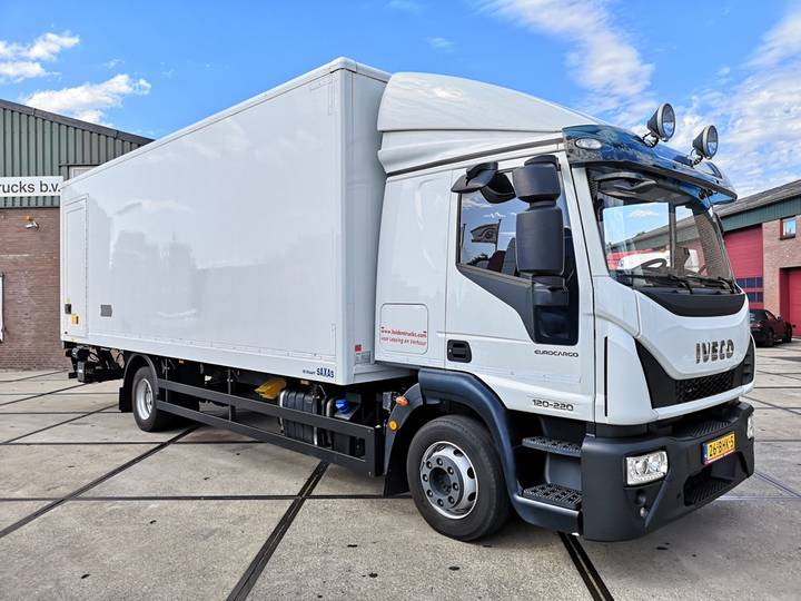 Iveco EUROCARGO 120E220 | EURO 6 | CLOSED BOX | LOAD-LIFT | MAN... - 2016