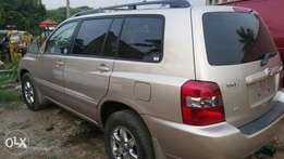 Toyota highlander 2005 accident free