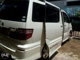 Selling Toyota Alphard, in good and stable condition