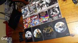 Ex US ps2 with 12 games one controler