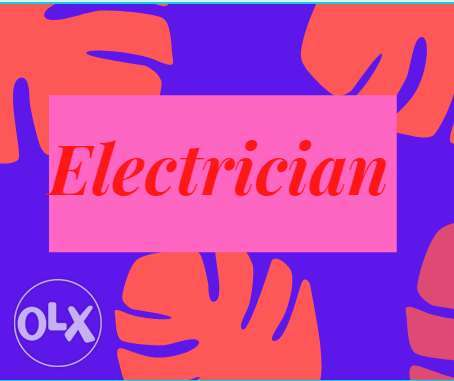 Electrical expert open for home,
