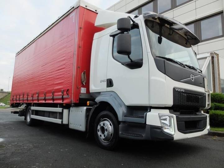 Volvo FL240*EURO6*SLEEP CAB*TAIL LIFT 1500 kg - 2015