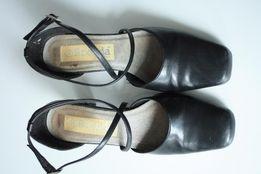 71a21ceb Czółenka czarne, obcas 6,5 cm, rozm. 36