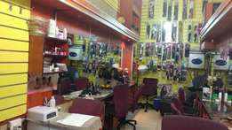 Reduced price Hair beauty salon business for sell with all the stock
