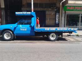 bakkies for hire R100