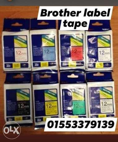 Brother egypt label print tape