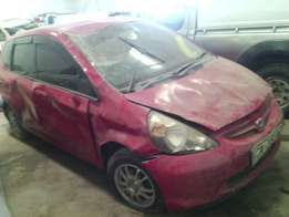 Insurance Salvage Honda Fit KCA