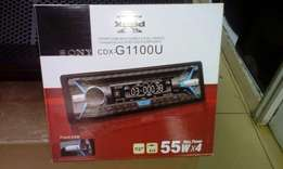 sony car DVD player Cdx-G1100