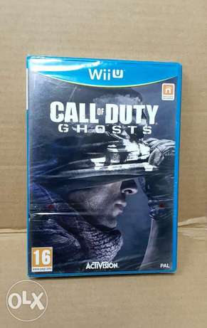 Call of Duty Ghost Wiiu game.