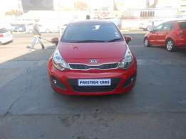 kia rio 1.4 hb 2012 model red
