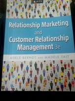 Relationship marketing and customer relations management