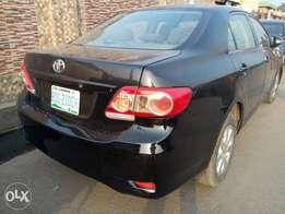 2010 soft pedal manual Toyota Corolla for sale at Xmas price.