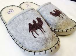 pure wool warm slippers