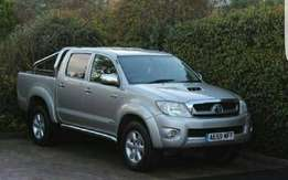 Toyota hilux double cabin diesel engine manual gear very nice
