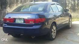 Honda accord only used for year