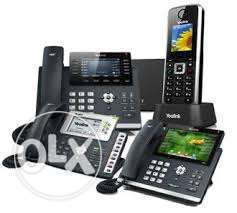 اجهزة سنترالات فويب {VOIP Call center{grandstream yealink sangoma GOIP