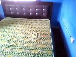 fairly used bed 6 by 6