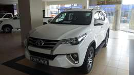 1 week left new toyota fortuners on special call me now